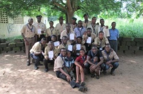 Article : Les Scouts ivoiriens se forment aux techniques d'animation d'unité