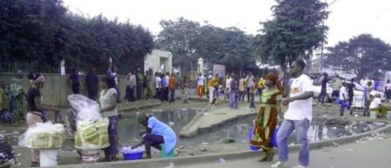 Article : Les trois lacs pétrolifères de la commune d'Abobo