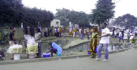 Devanture de la Mairie d'Abobo (Ph.Badra)