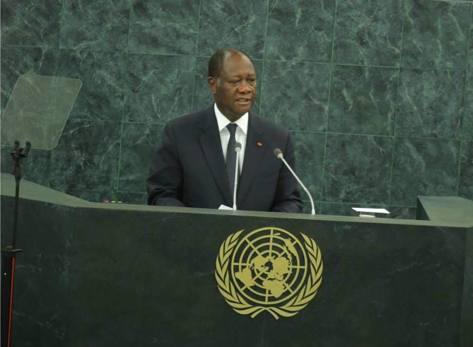 Alassane Ouattara à l'ONU (Ph.Google)