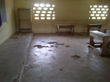 Une salle de classe, à l'EPP Djonikro