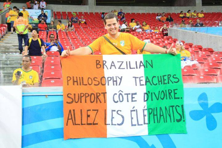 Un supporteur (Ph.Facebook)