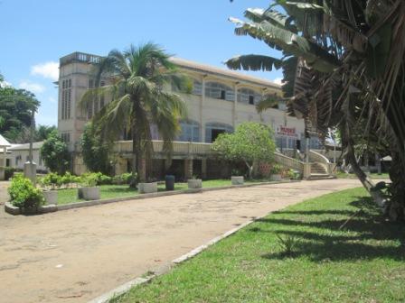 Une vue du Musée National du Costume ( Ph.Badra)