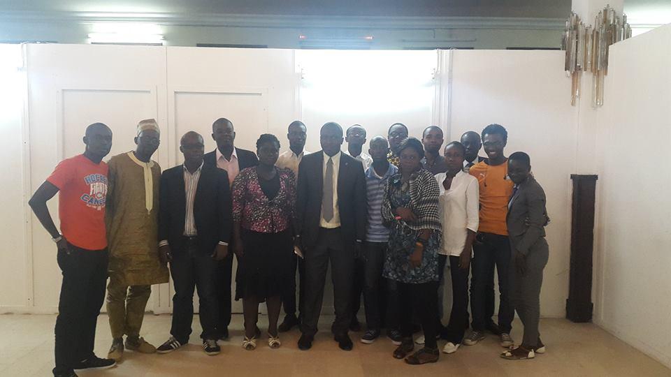 photo de famille des participants à l'atélier (ph.Behem)