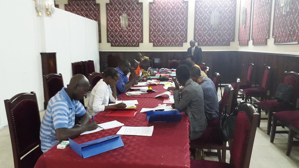 Une vue des blogueurs en seance de formation (Ph.Behem)