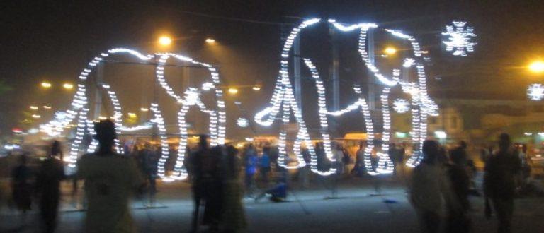 Article : Côte d'Ivoire : Décembre des Lumières et des Pétards