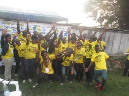 Participants à la journée internationale de la jeunesse en Cote d'ivoire (Ph.ABC)
