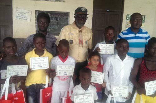 Article : Abobo : LES SCOUTS et l'ONG JADE Célèbrent l'Excellence scolaire