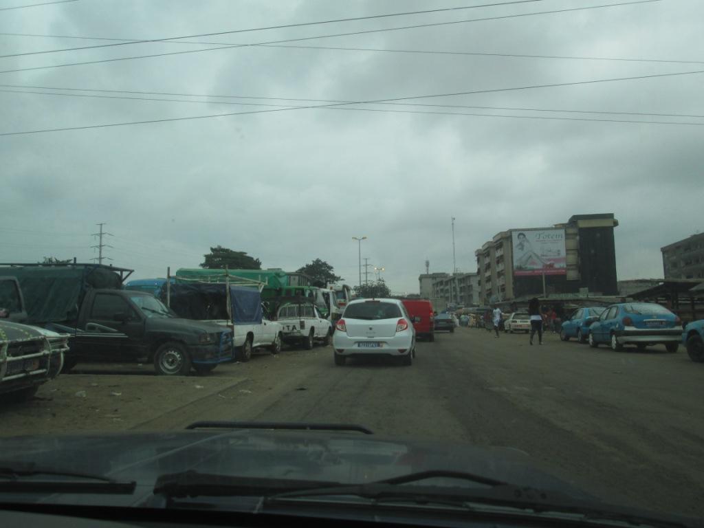Une gare à Abidjan Ph. Badra