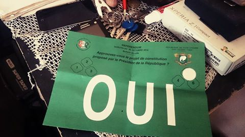 Bulletin du OUI rapporté par un citoyen (Ph.ED)