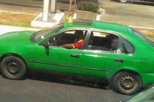 Article : Abidjan sous l'angle de la couleur de ses taxis communaux